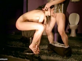 Lory makes her act of love fantasies a come to life with heavy firm dude