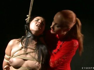 matured Katy Parker exhibits off her suggestive man as this chick gets hands on her gap licked out by lez Deborah Black