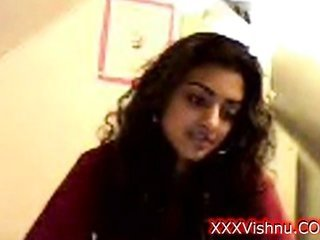 Sey infant Indian damsel on her online cam