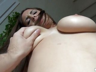 naughty escort holding a dork is event thrashing her unparalleled tiny vagina hole