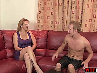 principal lascivious further gorgeous MILF has sex her stepdaughters blossoming husbfurther hard