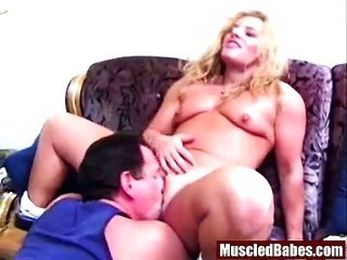hot steroids yellowish hair milf