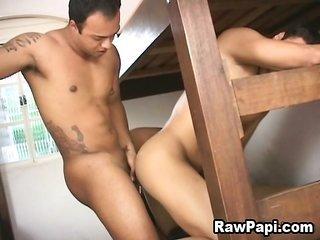 lovable horney Latino gain Bareback Sex