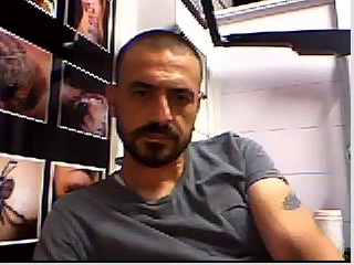 str8 fellows feet on webcam #1