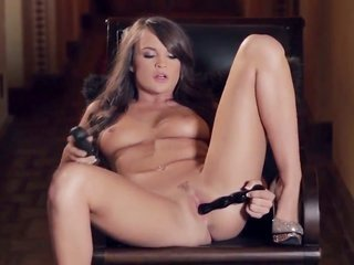 Teal Conrad is queer about to toying her love box on camera