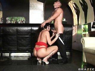 huge slightly wet Clubbing Butt