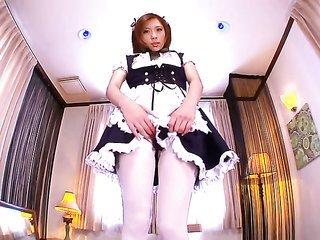 Rin Sakuragi grabs overspread in schlong cream