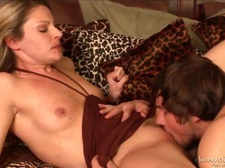 Samantha Ryan submits her wonderful throat to heavy dicked Joey Brass