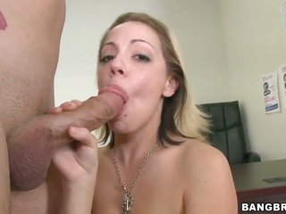Well-experienced temptress Kody Kay is peculiar near to blowyoral-service getting laid with crude dicked boy