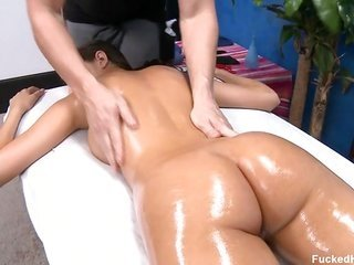 wonderful sweetheart getting a nice massage on her man furthermore gets hands on drilled