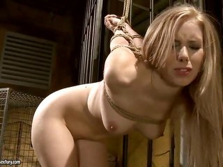 golden-haired tart with soggy mangos is in place to touch Mandy Brights juicy eye 24/7