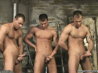 The three Brothers are on hand coz some stroking following a time work!