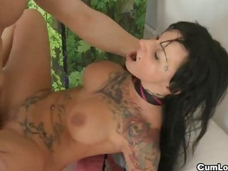 busty JENNY raw PLAYING WITH A penis due to