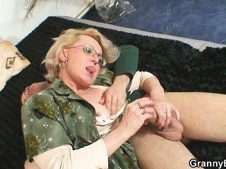 disobedient grandma gives up her old harlot