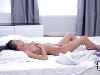 boylike slender brunette Lisa M. with like a babe in the woods boobies besides snug maiden comes by nude besides polishes amazing smooth babe pot to w