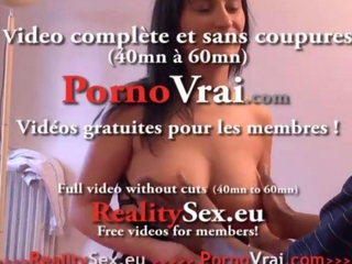 Gros seins Gang-impact Sodo et Double penetration ! French rookie