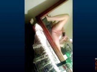 Skype sex with grown-up fur pie