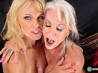 60 what's more MILF Cara Reid & Sally D Angelo