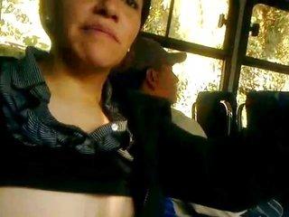milk sacks tutor in bus