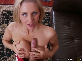 Julia Ann with moist pantoons takes possession wildly screwed in her cavity by Johnny Sins