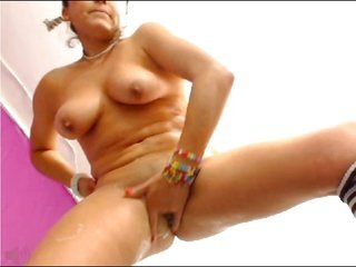 Squirt... this babe makes it rain