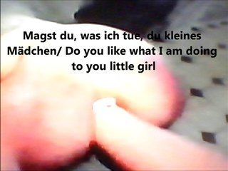 aged German lesbain tricks diaper lover damsel