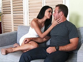 My father's sensuous girlfriend Jasmine Caro