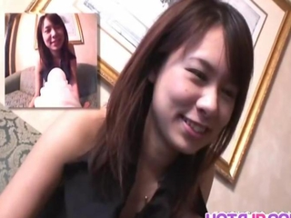 nfantile Miho plays raunchy on webcam