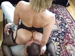 Milf holds her a-hole eaten